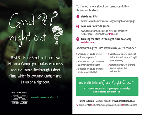 Scottish sexual health campaigns examples