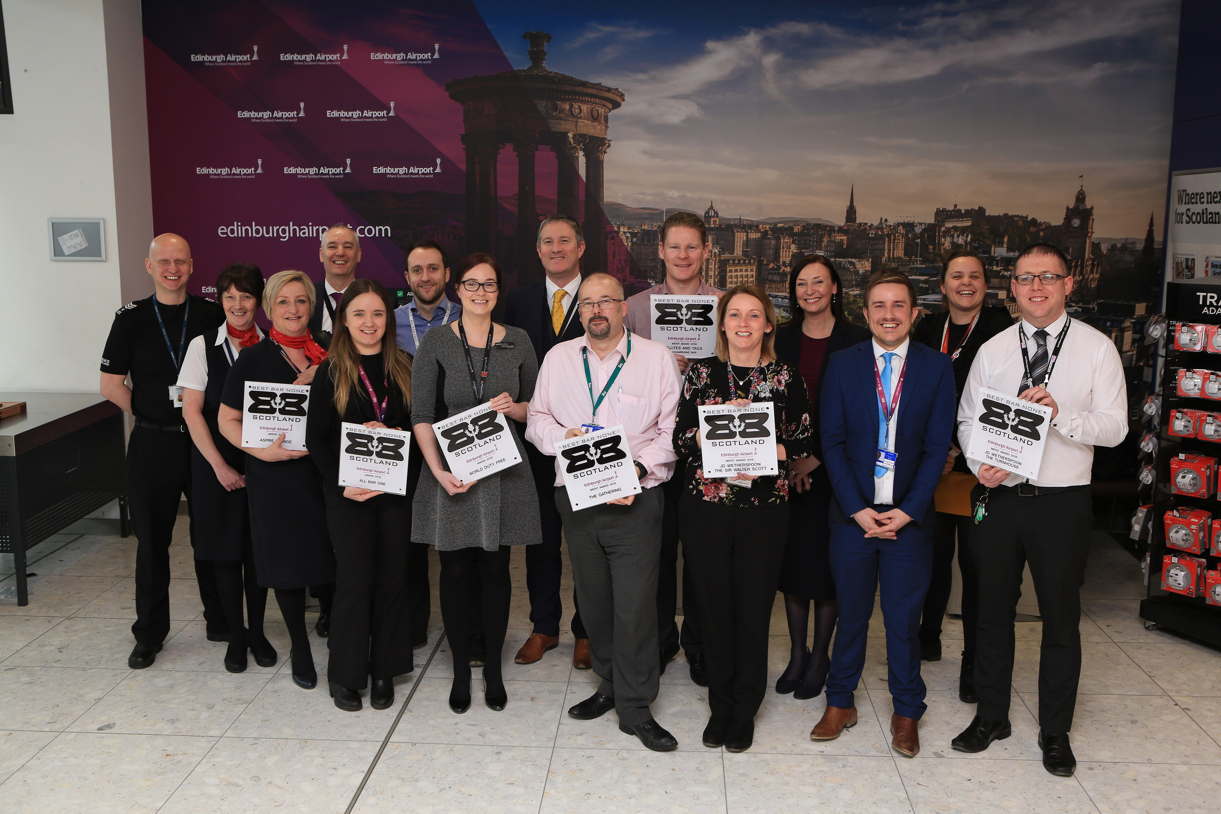 First Awards for Edinburgh Airport